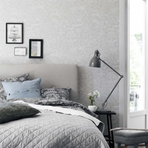 Красиви спални в сиво