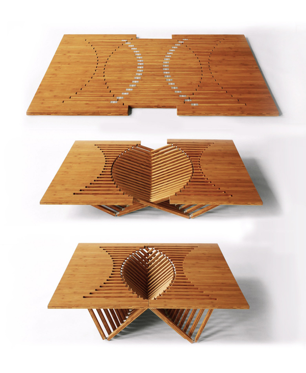 risinig table