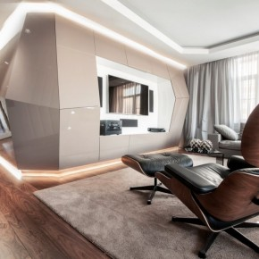 Хай-тек апартамент в Москва