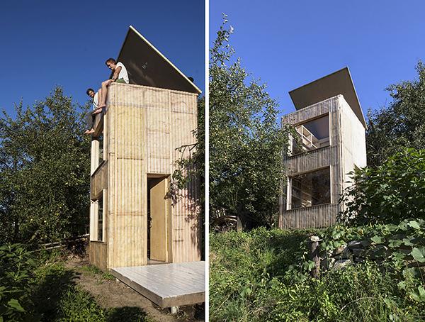градинска библиотека от Мьолк архитекти