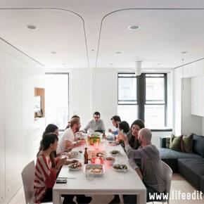 Хитроумен и удобен мини апартамент в Манхатън