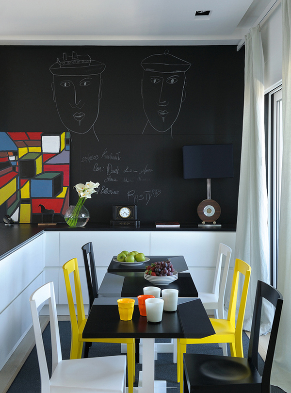 vesta mebel-black and yellow in Neapol9