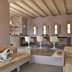 Чудна лятна къща на остров Серифос