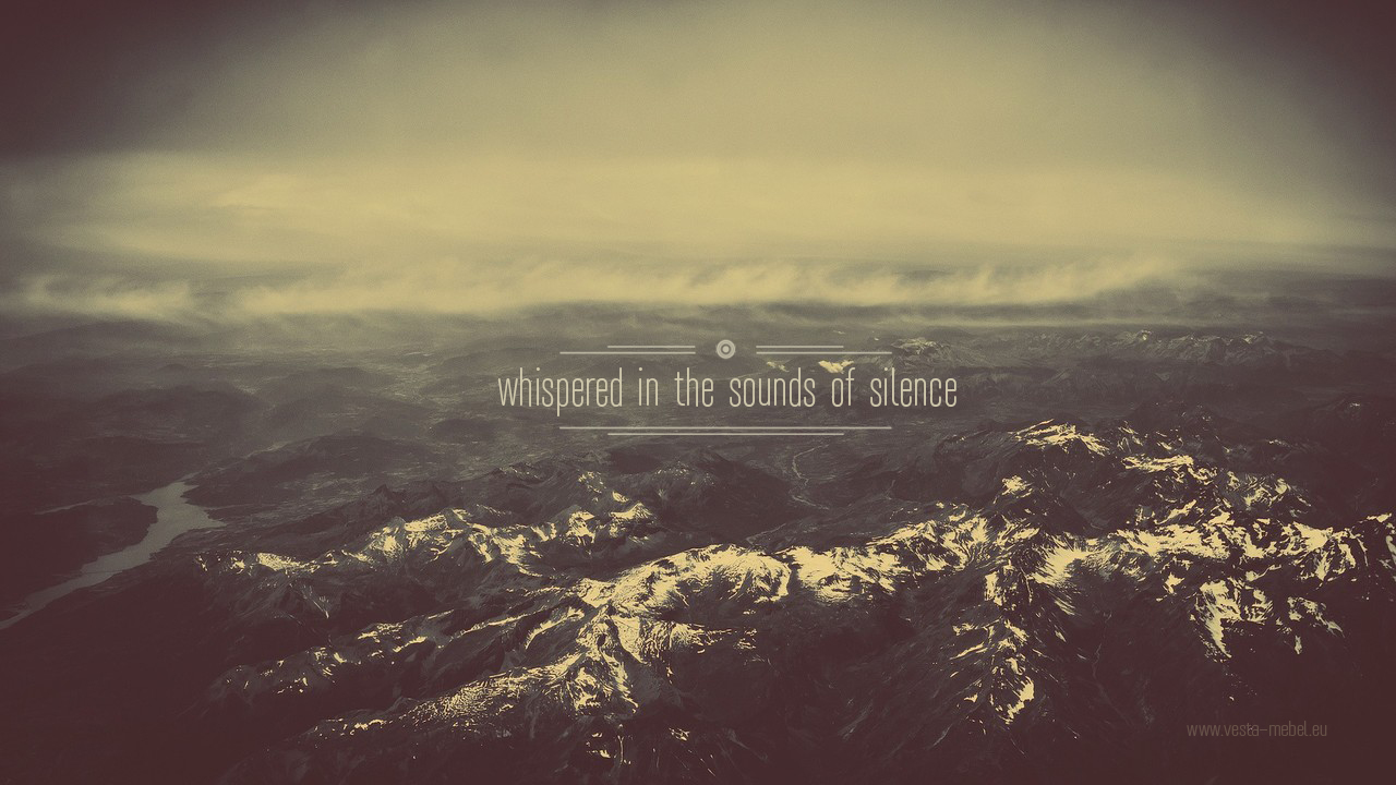 vesta mebel blog - background - whispered in the sounds of silence