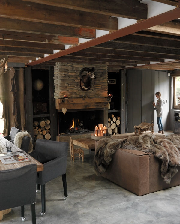 vesta mebel blog-dutch winter rustic house 2