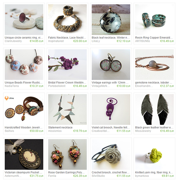 vesta mebel blog - etsy treasury list bulgarian jewelry