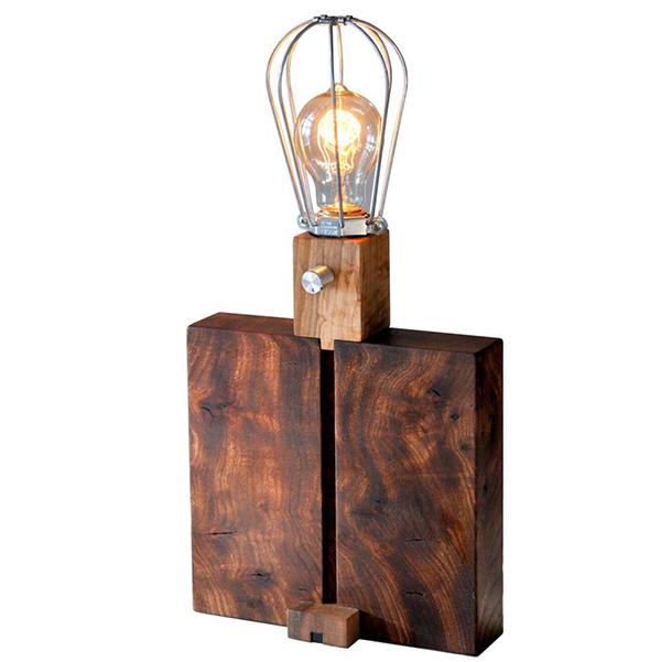 vesta mebel blog-3 predmeta ot durvo - lampa