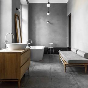 Къща в Берлин: натурално дърво, сиво и фантастични мебели