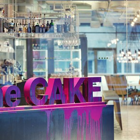 Една модерна сладкарничка в Киев - The Cake