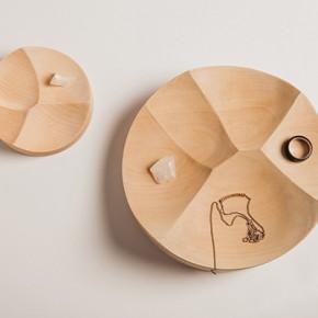 Издълбани купички за малки предмети