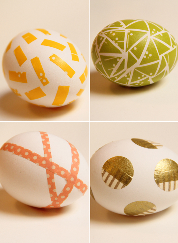 vesta mebel blog-washi tape eggs