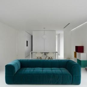 Минималистична лятна къща в Сицилия