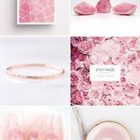 ETSY FINDS: Нежни розови нюанси