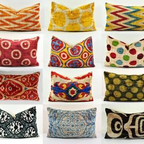 Красиви възглавници от Узбекистан