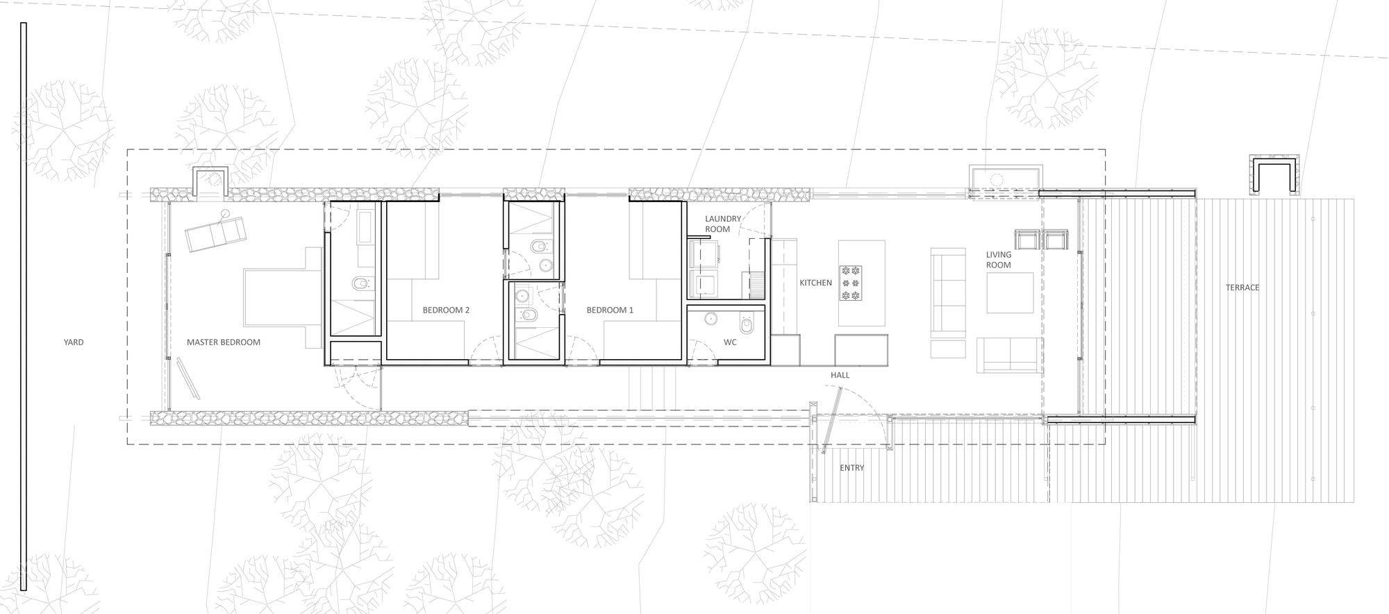 vesta mebel-ro house-tapalpa-el-as-rizo-arquitectos-plan