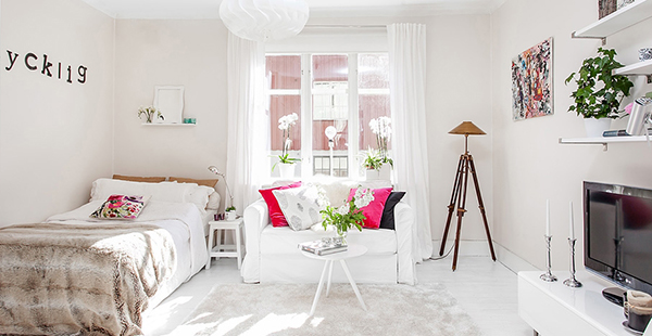 розово и бяло