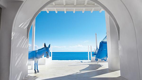 vesta mebel - Mykonos Blu - Absolute-White-&-Blue