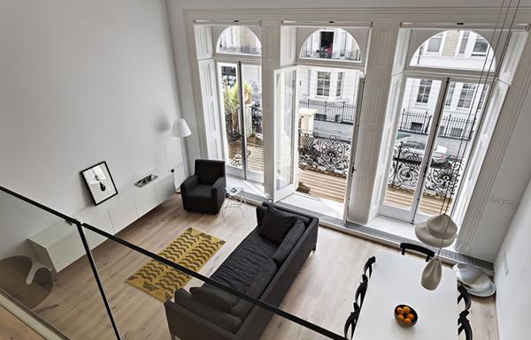 vesta mebel blog-De Vere Gardens flat- VW BS Franke6