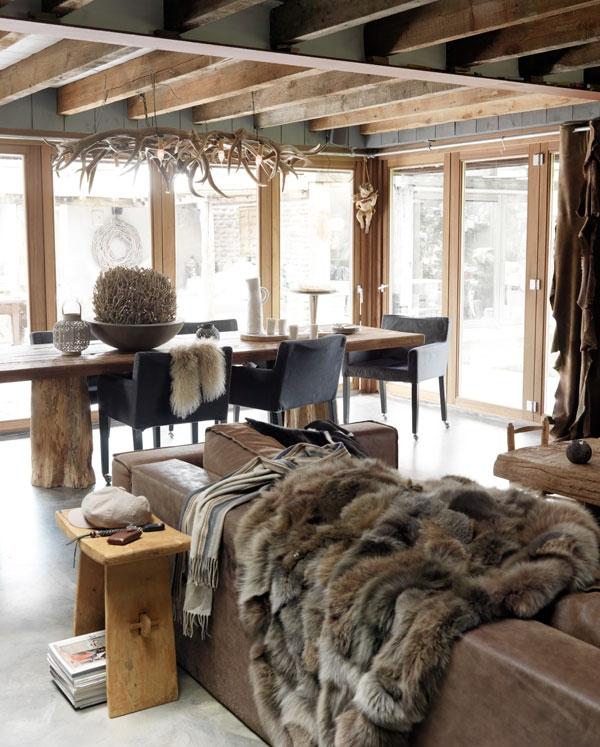 vesta mebel blog-dutch winter rustic house 1