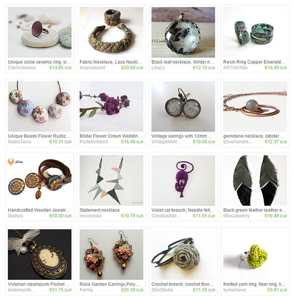 vesta mebel blog - etsy treasury list bulgarian jewelry