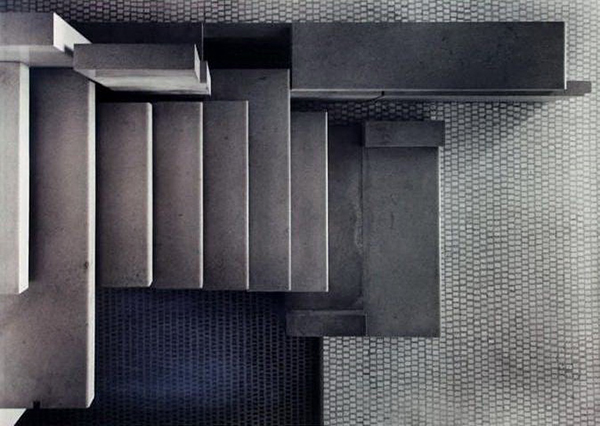 vesta mebel blog-olivetti showroom staircase