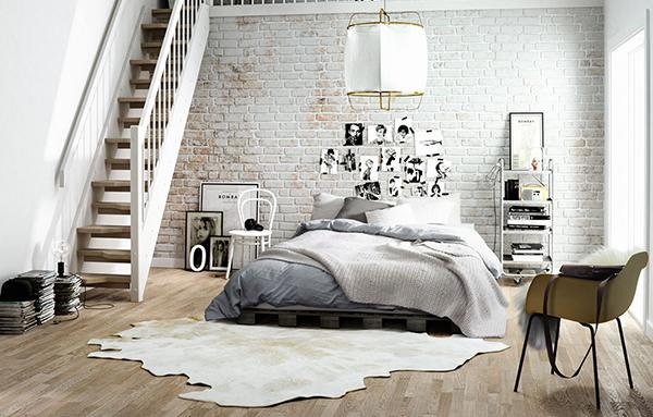 vesta mebel blog - skandinavski stil spalnq