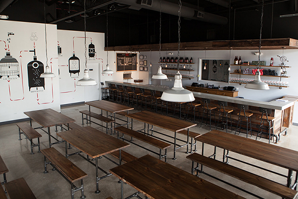 Penrose Brewing Company's taproom is located in Geneva, Ill.