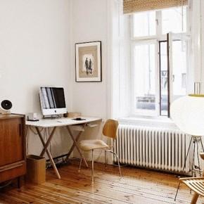 Интериор с ретро мебели в Стокхолм