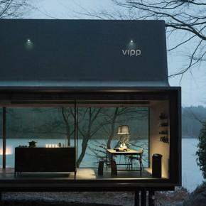 Vipp Shelter - интериор в черно от иконичната датска марка
