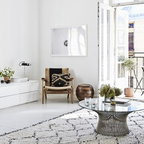 Апартаментът на финландски интериорен дизайнер