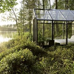 Модулен градински павилион по финландски