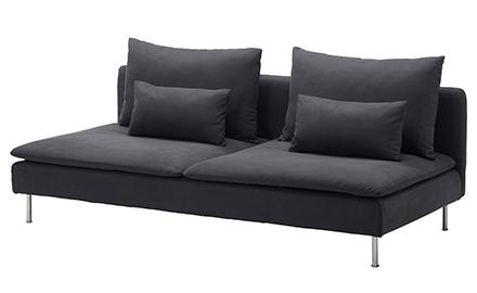 диван Икеа Содерхамн сив, Soderhamn Ikea sofa dark grey