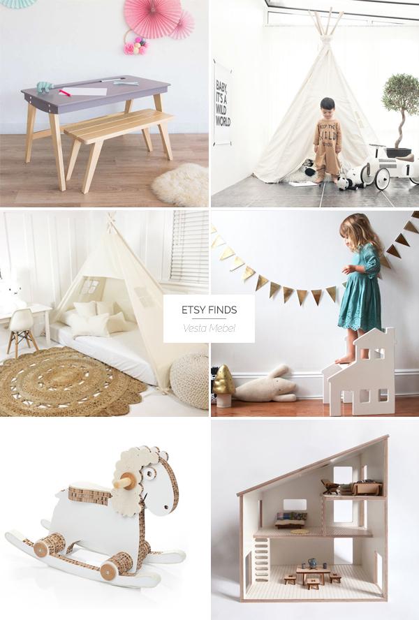 детска стая, etsy finds: детската стая